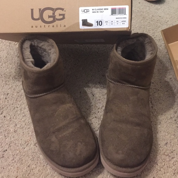 Ugg Classic Mini Chocolate Brown Boots
