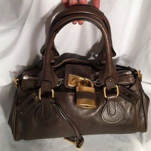 Chloe Paddington Whiskey Brown satchel.