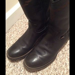 cef28edc384 Black Justin George Strait boots. EUC. SIZE 6.5