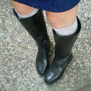 """Like new Coach """"Eva"""" Riding Boots in Black"""