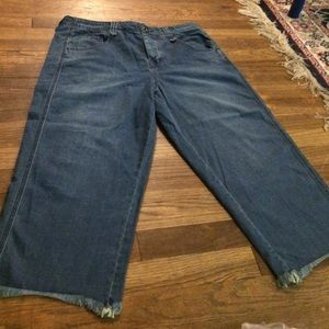 Free people fisherman crop jeans size 29