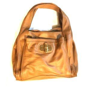 b. makowsky Handbags - B. Makowsky light brown leather hobo purse nice