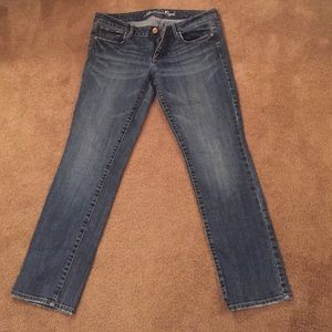 American Eagle size 12 straight jeans