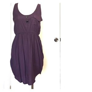 Audrey 3+1 Dresses & Skirts - Purple Peplum Dress