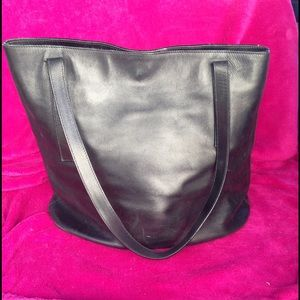 Anteprima Handbags - Anteprima Black Leather Bucket Bag