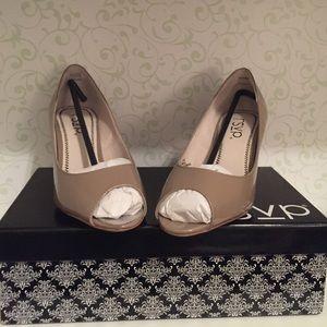 0e6557e1b0b rsvp Shoes - rsvp Maren Patent Peep Toe Pump
