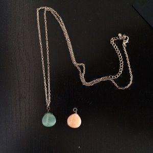 Topshop Jewelry - Semi Precious Stone Necklace