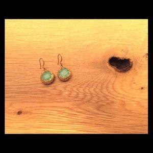 Alexis Bittar Jewelry - Alexis Bittar Klimt drop earrings turquoise & gold