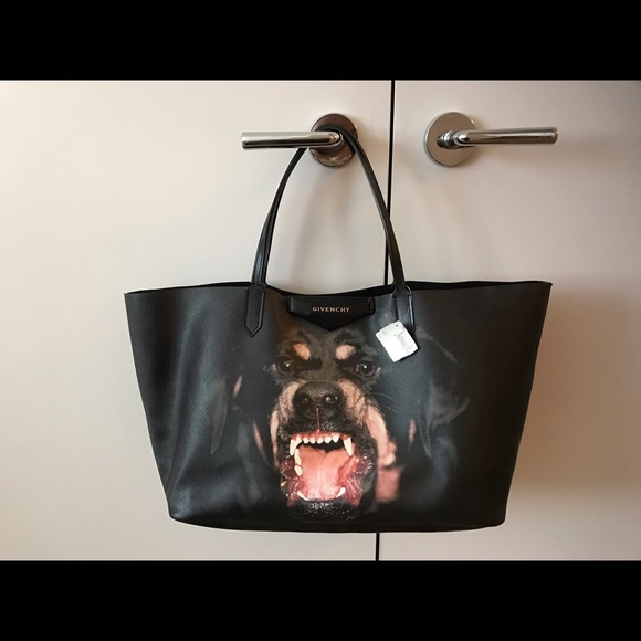 6d14df00e634 Givenchy Rottweiler Tote with pouch