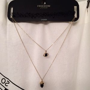 Topshop Jewelry - Topshop Chocker Set