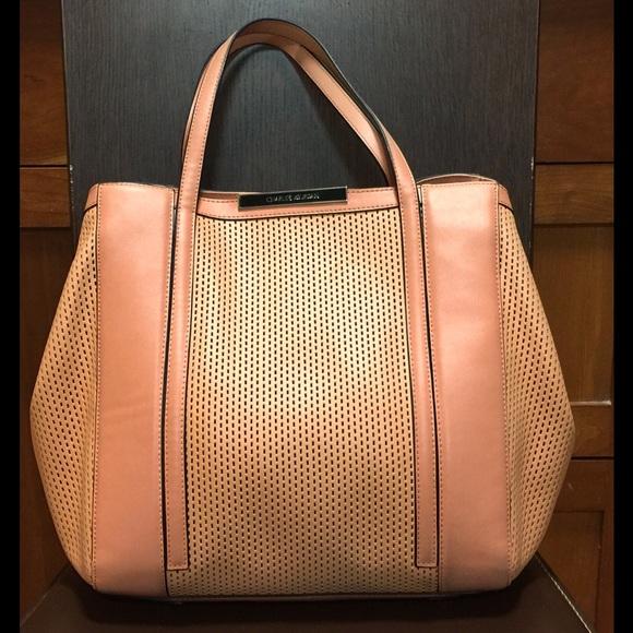 44f8bbffdaed Charles Jourdan Handbags - Charles Jourdan Bailey Perforated Leather Tote