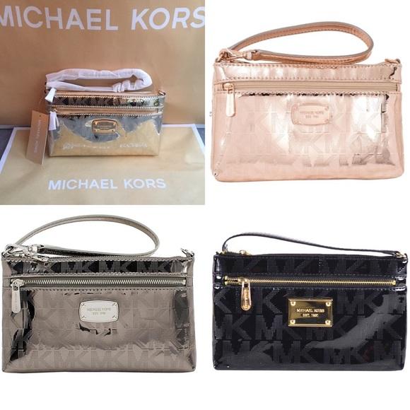 a7077a2dd63e Michael Kors Bags | In Stock Mk Wristlet Metallic | Poshmark