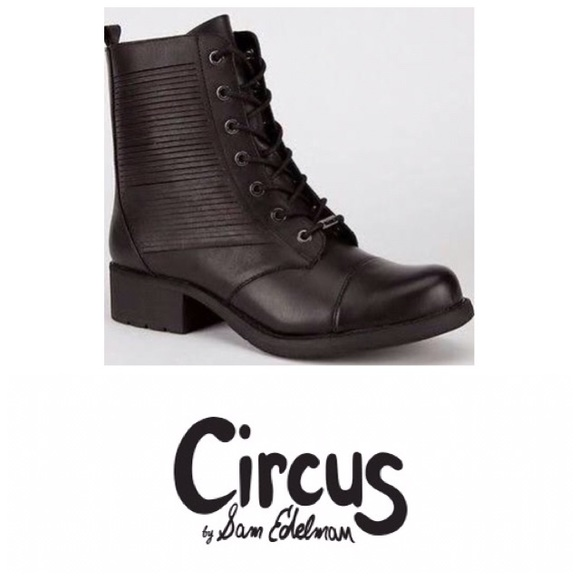 2015eb76c99d61 Circus by Sam Edelman Woman Gaston - Black Leather
