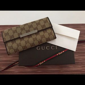 % Authentic Gucci Wallet