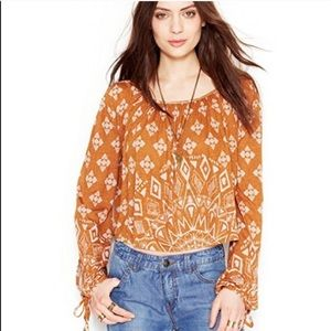 Cool Free People crop top size XS.