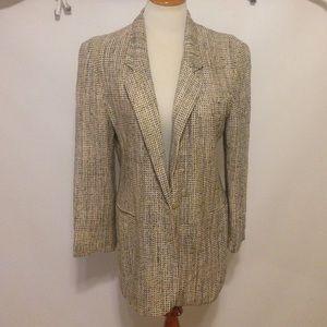 EMIL RUTENBERG Blazer 100% Hand Woven Silk