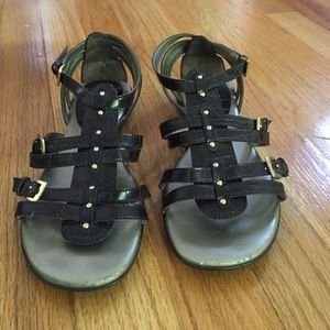 Soft Gallery Shoes - Size 7.5 M brown sandal by Nickels by Soft company