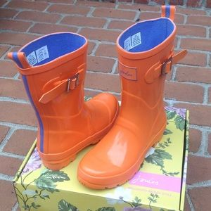 Joules Shoes - Cutest welly ever, 6/ 6.5 nwt🌂