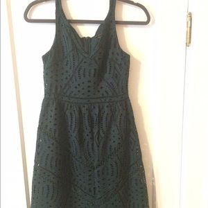Anne Taylor lace size zero fit and flare dress.
