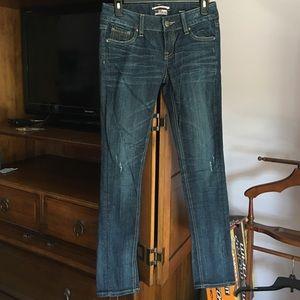 Express skinny jeans Rerock