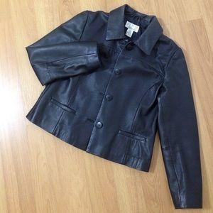 Petite Sophisticate Jackets & Blazers - 💯Genuine Leather Jacket