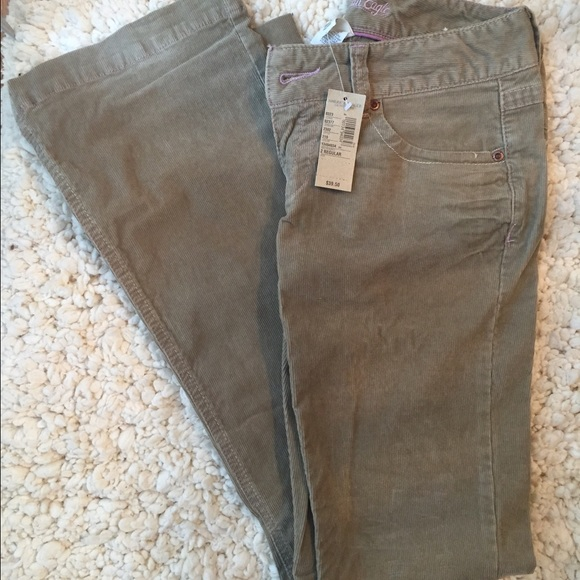 55% off American Eagle Outfitters Pants - Boot leg Corduroy pants ...