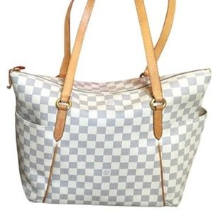 Louis Vuitton Totally MM Azur Tote Bag