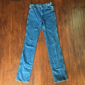 Extra Long Vintage Wrangler Jeans