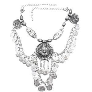 Child of Wild Jewelry - Child of Wild Moon's Vengeance Coin Necklace