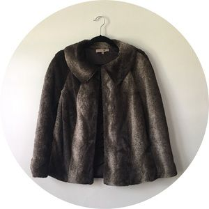 Faux Fur Cape by Heed