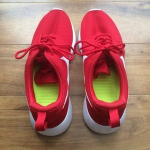 48be6782267d Nike Shoes - New Nike roshe roshes red white costume made