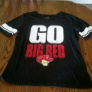 5th & Ocean Tops - Nebraska Husker shirt