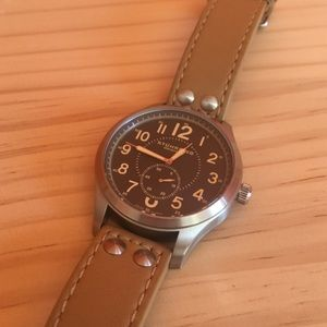 Stuhrling Original Other - Stuhrling men's watch with brown leather band