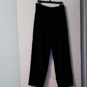 Pants - Classic Black Knit Slacks