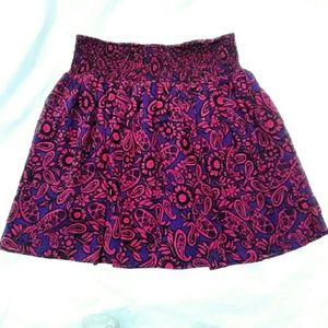 Forever 21 Dresses & Skirts - Forever 21 Pink Paisley Print Skirt