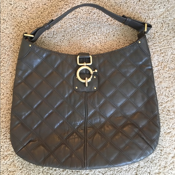 88% off J. Crew Handbags - J. Crew Quilted Leather Hobo from ... : quilted handbags leather - Adamdwight.com