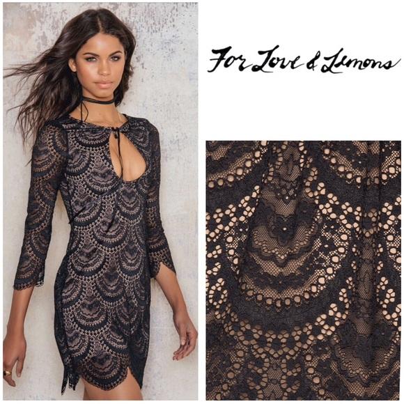 dd46744a735cd For Love and Lemons Dresses | New For Love Lemons Rosalita Mini ...