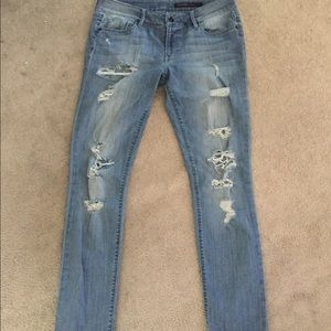 Black Orchid Denim - Black orchid distressed jeans.