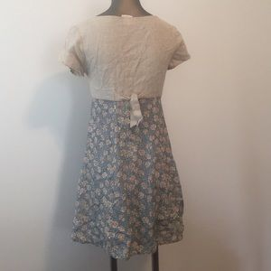 My Michelle Dresses - My Michelle country linen vtg mini dress  sz 3