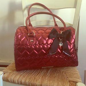Betsey Johnson overnight bag