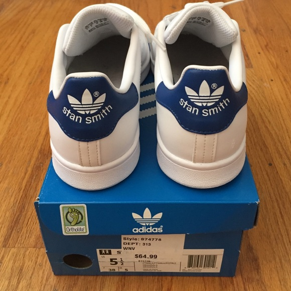 best service 20b29 5aa6b Adidas Stan Smith (Navy) juniors 5.5 women's 7 NWT