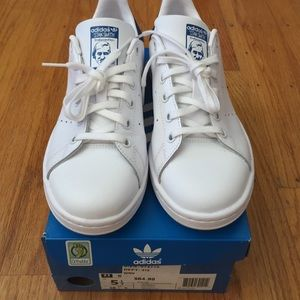 save off cf057 54268 ... france adidas shoes adidas stan smith navy juniors 5.5 womens 7 eb938  76603