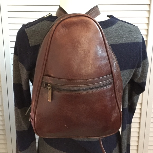 G.H. Bass   Co. Bags   Gh Bass Co Leather Backpack   Poshmark 6a40c691e9