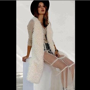 Urban Outfitters faux fur suede Reversible Vest M