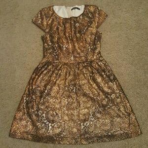 Kensie Metalic Dress