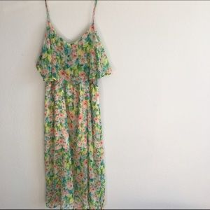 Topshop Dresses & Skirts - Topshop Chiffon Floral Dress