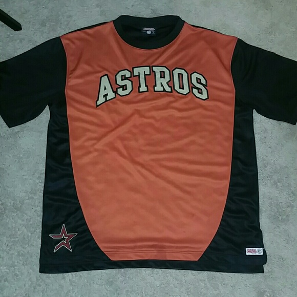 Stitches Shirts Mens Xl Houston Astros Embroidered Jersey Poshmark