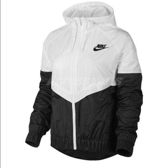 save up to 60% big discount sale limited style ISO- Nike Windrunner black/white NWT