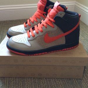 Other - ●Men's Nike Dunk High light bone/team orange-tar