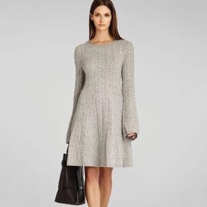 BCBG Max Azria Tan Hoshi Sweater Dress
